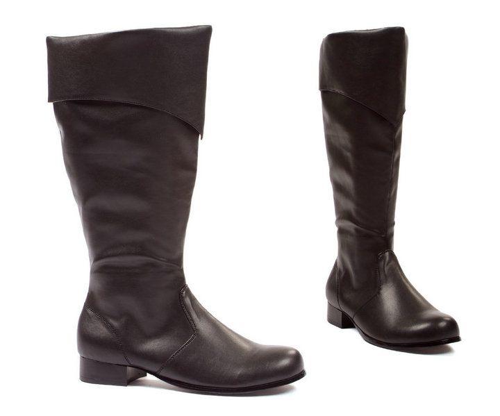 ELLIE-121-BERNARD-Mens-1-Heel-Pirate-Captain-Renaissance-Costume-Knee-High-Boot