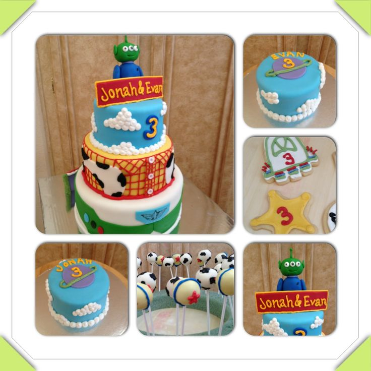 Toy Story Cake Smash Cakes Cookies And Cake Pops Buzz
