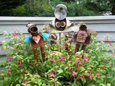 The 391 best Garden Junk images on Pinterest | Garden junk, Garden ...