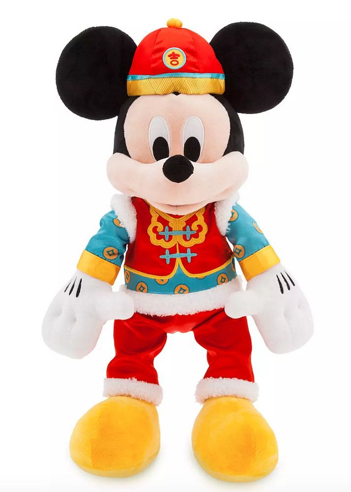 Lunar New Year Mickey And Minnie Plush And More Are Now Available Online In 2020 Disney Mickey Mouse Mickey Mouse And Friends Mickey