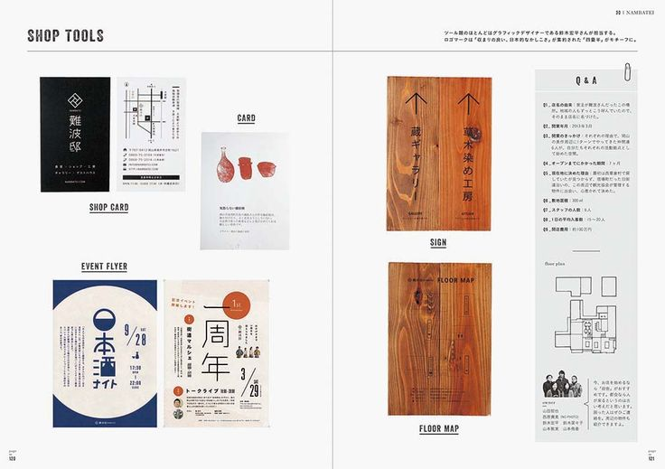 Sample page - Coffee Shop and Concept Store Designs: From Interior to Tools #StoreDesign #Tokyo #CoffeeShop #Cafe #ShopCard #DesignBook