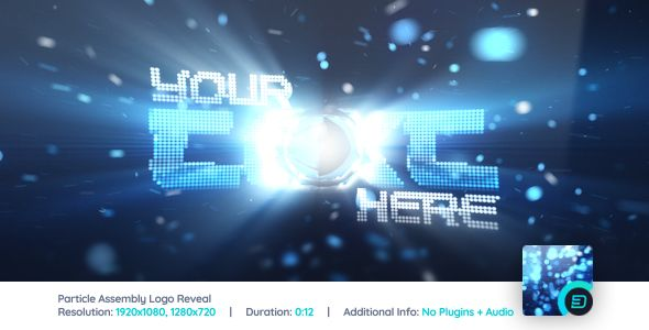 Particle Assembly Logo Reveal Logo Reveal Reveal Videohive