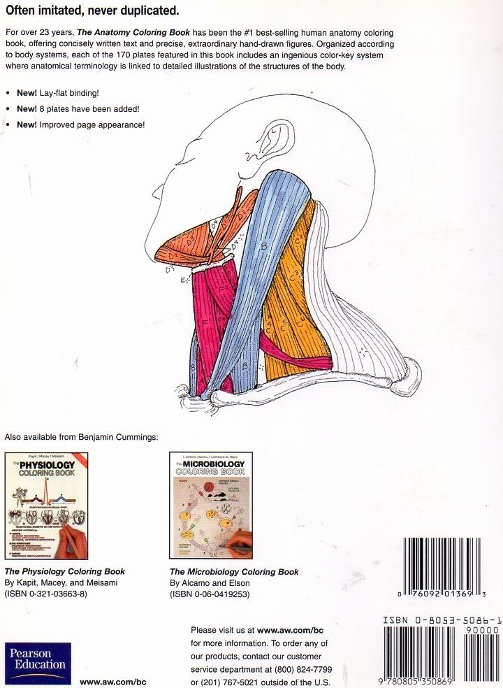 Human Body Coloring Book Lovely The Anatomy Coloring Book En Ingles De Kapit Elson Anatomy Coloring Book Toddler Coloring Book Coloring Books