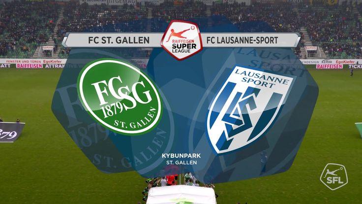 FC St. Gallen - FC Lausanne-Sport ( 2 - 1 ) Super League / Full match 20...