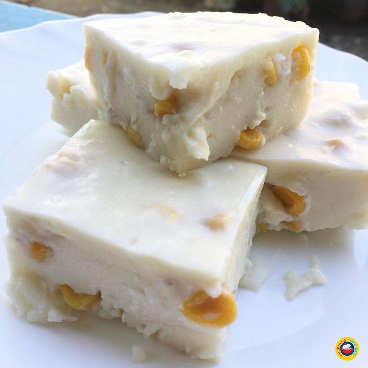 Maja Blanca Recipe is made from Coconut Milk, Cornstarch or Gelatin, Sweet Corn kernels, Milk, Sugar and the last but not the least, Latik.