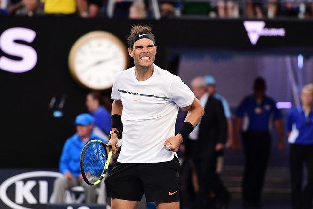 Rafael Nadal, 3R, Rod Laver Arena, 21 January 2017.