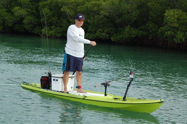 And for those who like to sneak up on fish in the shallows for Fishing paddle boards