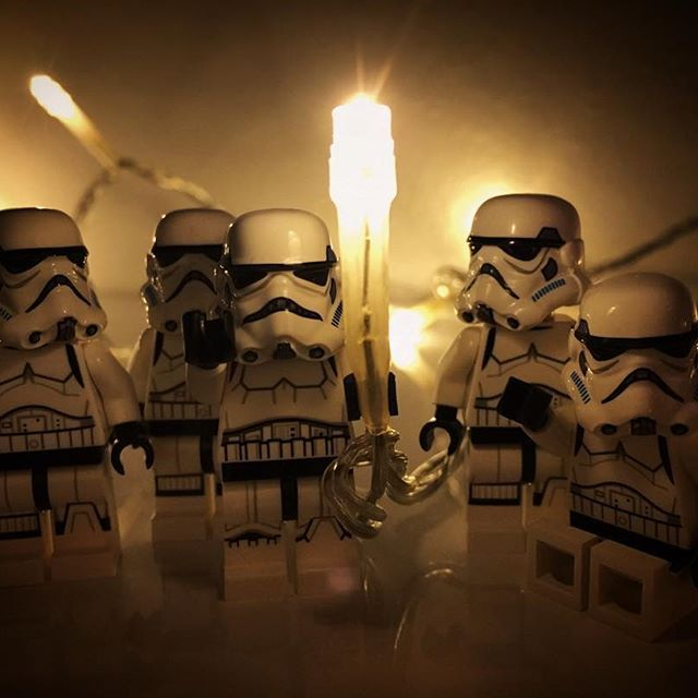 Stormy New Year everyone!!  #lego #starwars #happynewyear #stormtroopers