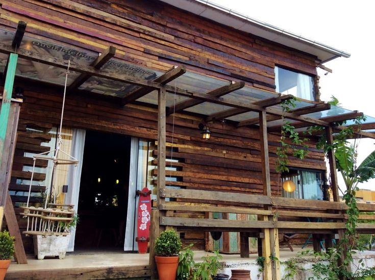 Uma Pequena Casa Rústica Ecológica No Meio Da Natureza em Florianópolis (De Marina Mantovanini - Homify)