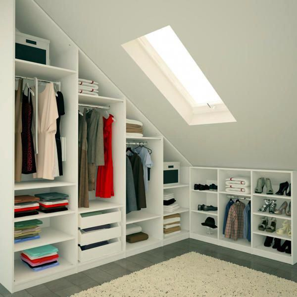 Turn Your Attic Into A Bedroom Kleiderschrank Fur Dachschrage Begehbarer Kleiderschrank Unter Schrage Und Ankleidezimmer