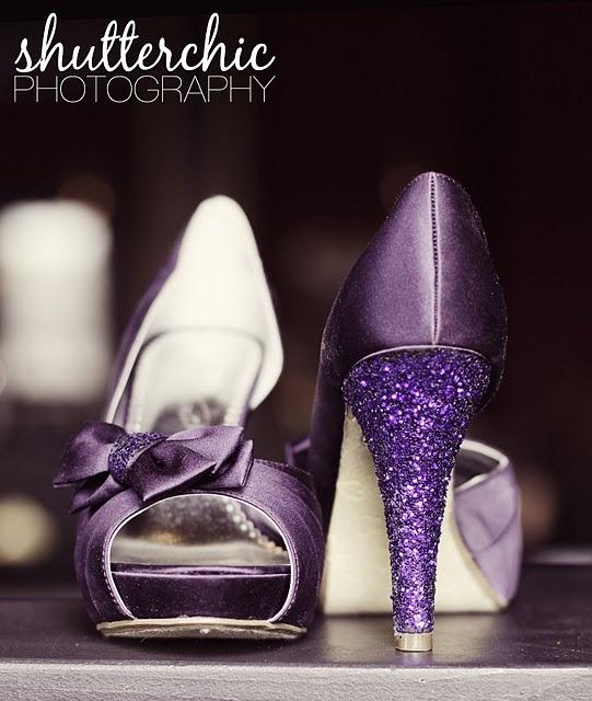 purple shoes!: Purple Shoes, Sparkly Heels, Wedding Shoes, Sparkly Shoes, Glitter Shoes, Opera Houses, Bridesmaid Shoes, Glitter Heels, Houses Wedding