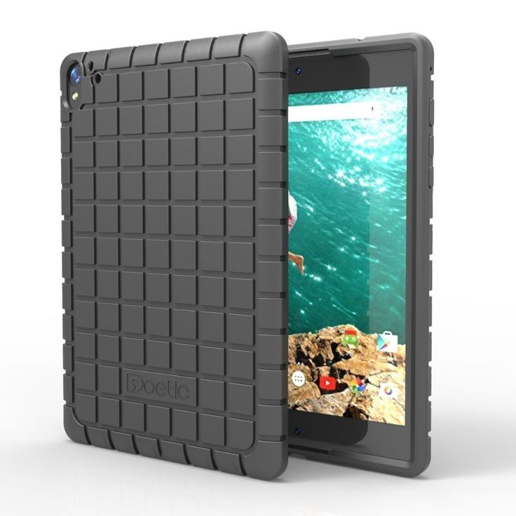 Poetic GraphGrip?Lightweight?Protective Silicone Case For Google Nexus 9 Tablet