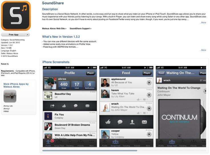 FREE iPhone App: SoundShare ➤ http://itunes.apple.com/