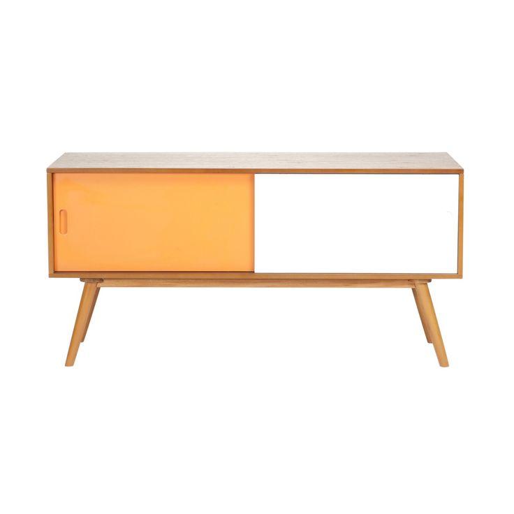 Buy Orange Gwyneth Credenza Sideboard Online | Storage Solutions - Retrojan