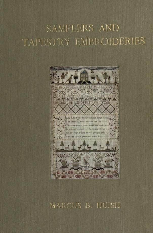 Samplers & tapestry embroideries, 1913