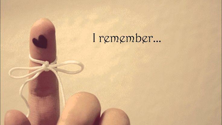 Mocca - I Remember Lyric