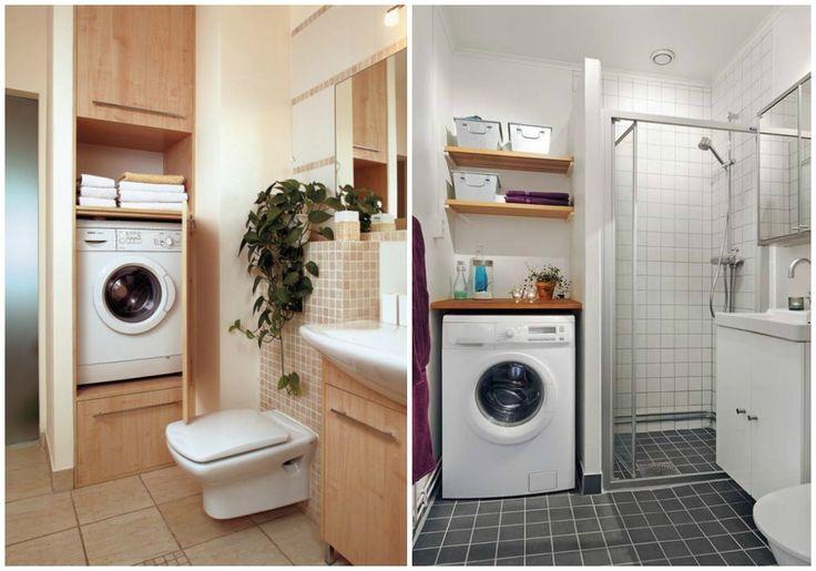 Lavadora en bano o atras de bano para conectar a deposito - Instalar lavadora en bano ...