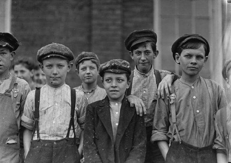 boy clothing in england 1900 | child labor doffer boys