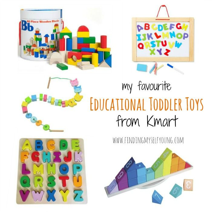Finding Myself Young: My favourite educational toddler toys from Kmart