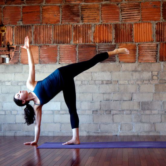yoga poses to get rid of back fat!