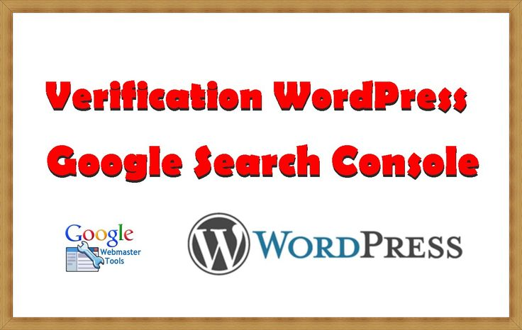 How to Verification WordPress in Google Search Console Tool