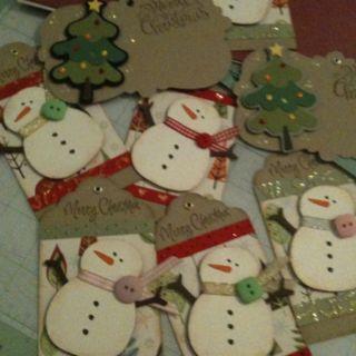 Christmas tags 2010