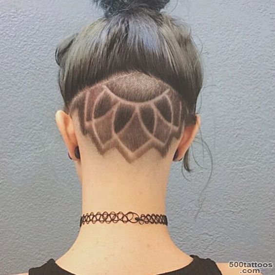 Tatouage de cheveux: photo num 2453