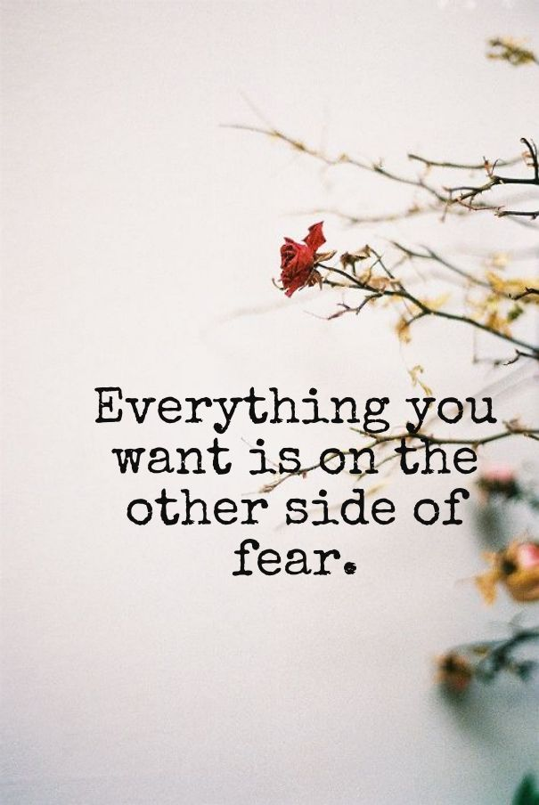 Image result for the other side of fear