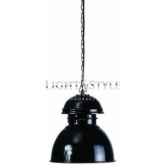 HK Living Lampa Warehouse czarna M VAA1009 - Sklep Light & Style