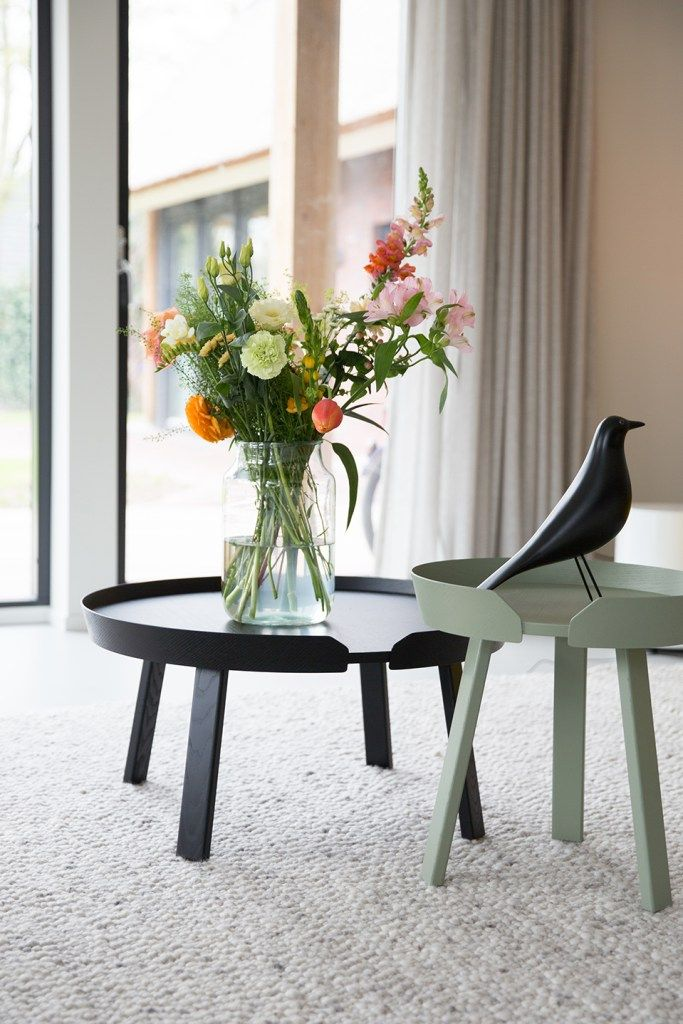 Muuto Around Coffee Table - a wooden design both simple and vibrant to style any home. A statement piece which delivers new perspectives on Scandinavian design. https://muuto.com/