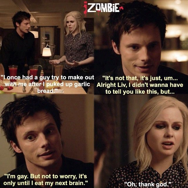 "#iZombie 1x07 ""Maternity Liv"" - Liv and Lowell"