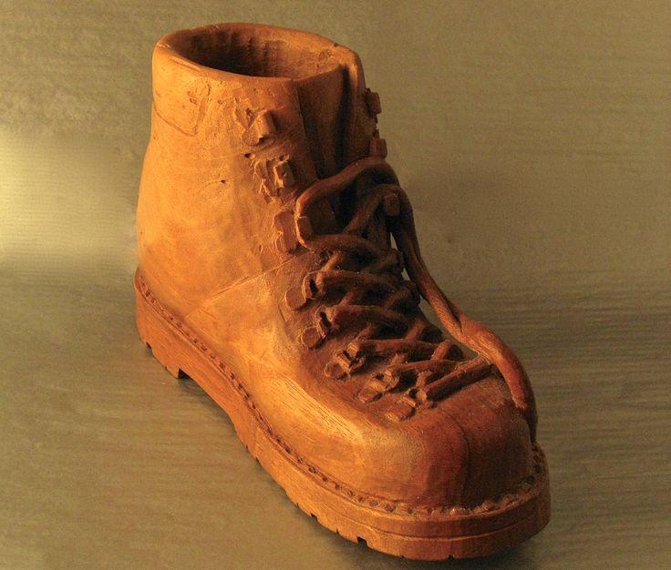 Boot   walnut  cm 24  2005