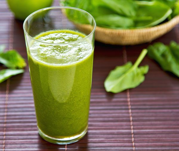 This super green smoothie recipe makes a great smoothie for diabetics, as most berries are low in carbohydrates.data-pin-do=