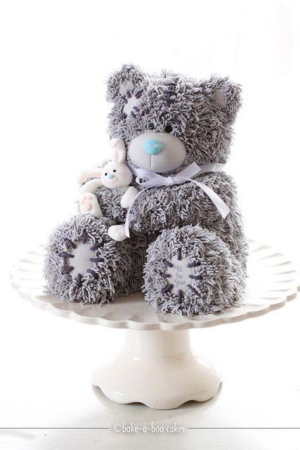 Teddybär-Cake