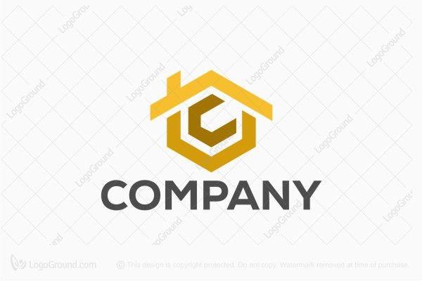 Logo for sale: Letter C And V Real Estate Logo