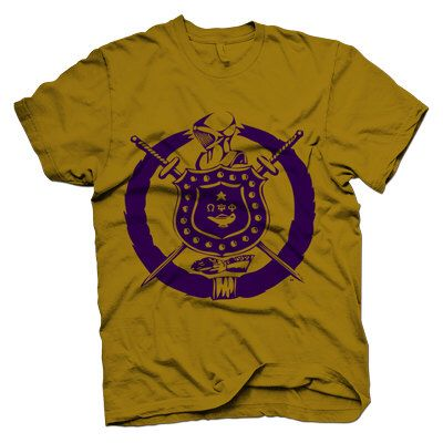 Omega Psi Phi Crest by DeferenceClothing on Etsy https://www.etsy.com/listing/201194478/omega-psi-phi-crest