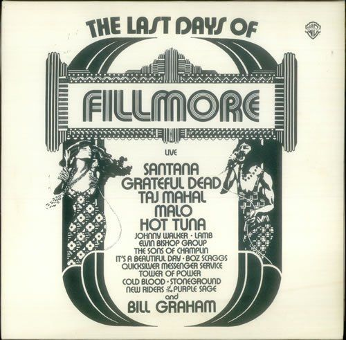 fillmore-the last days LP ~ VARIOUS