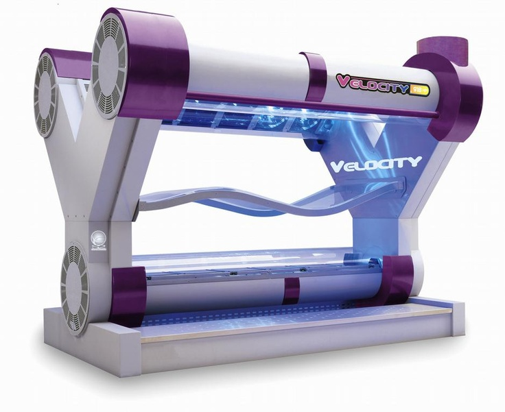 Planet Beach Velocity tanning bed.