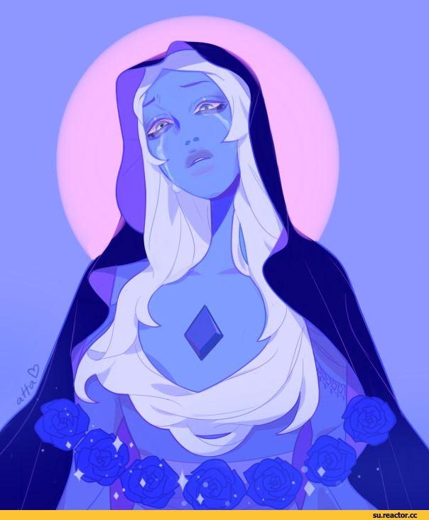 SU art,Steven universe,фэндомы,Blue Diamond,SU Персонажи,Atta