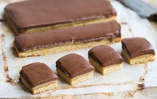 Caramel Slice - I Quit Sugar