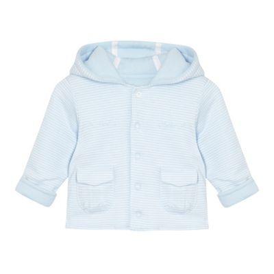J by Jasper Conran Designer Babies pale blue striped jacket