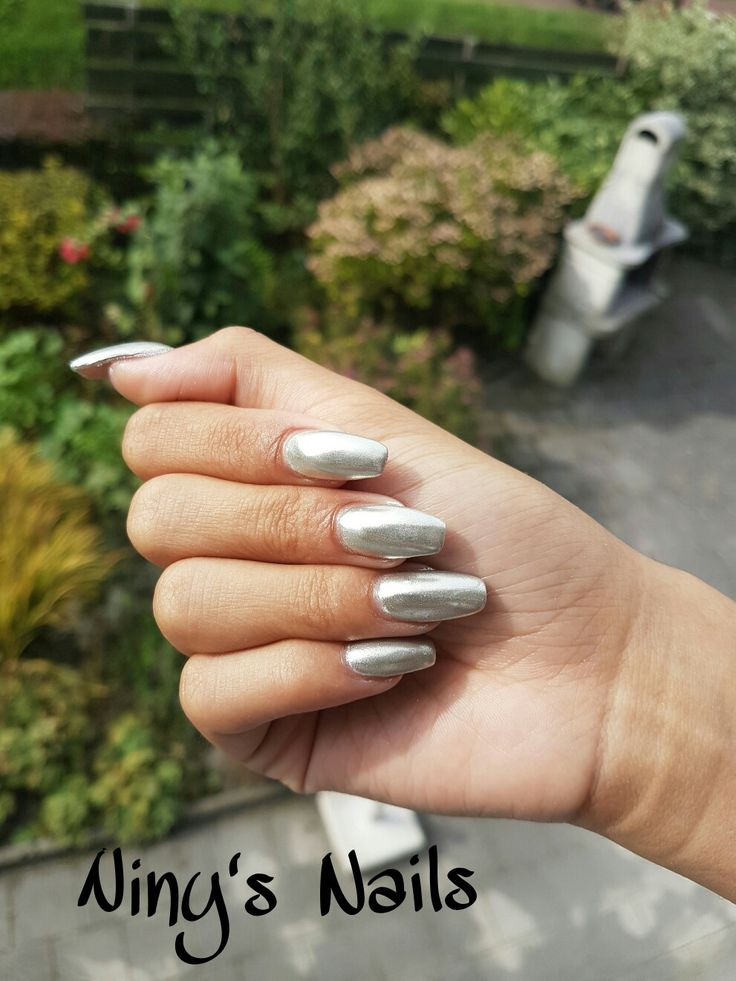 #ninysnails chrome nails of gewoon chroom nagels