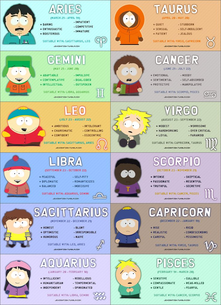 South Park. I'm so happy the fact I am Butters