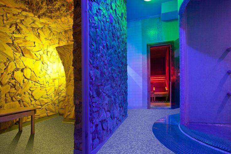 Sauny nocą w Hotelu Klimek #hotelklimekspa #hotelklimek #muszyna #beskidsadecki #mountains #relax #spa #aquapark