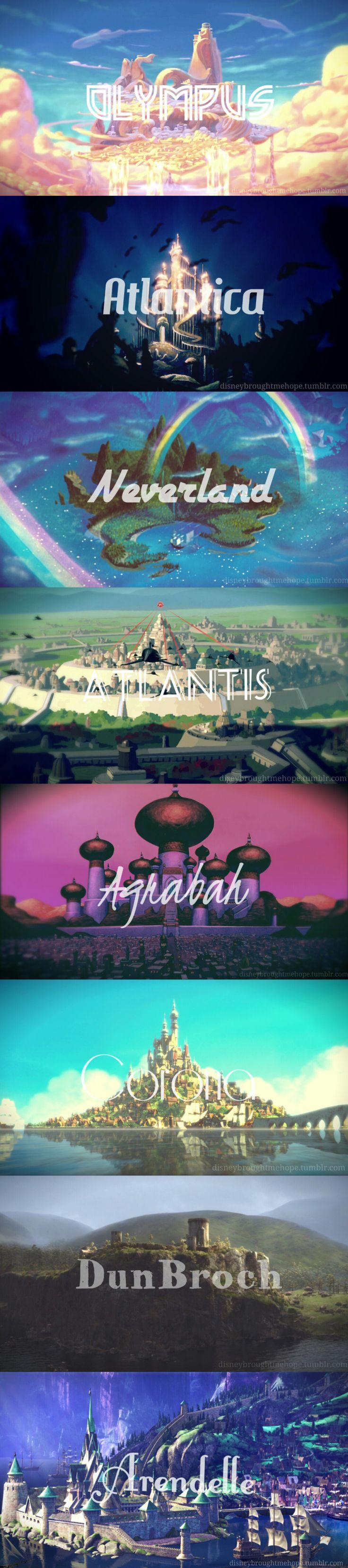 Kingdoms of Disney