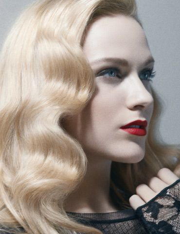 Evan Rachel Wood. Hollywood 50's glamour Learn how to do this makeup style: http://www.theamua.com
