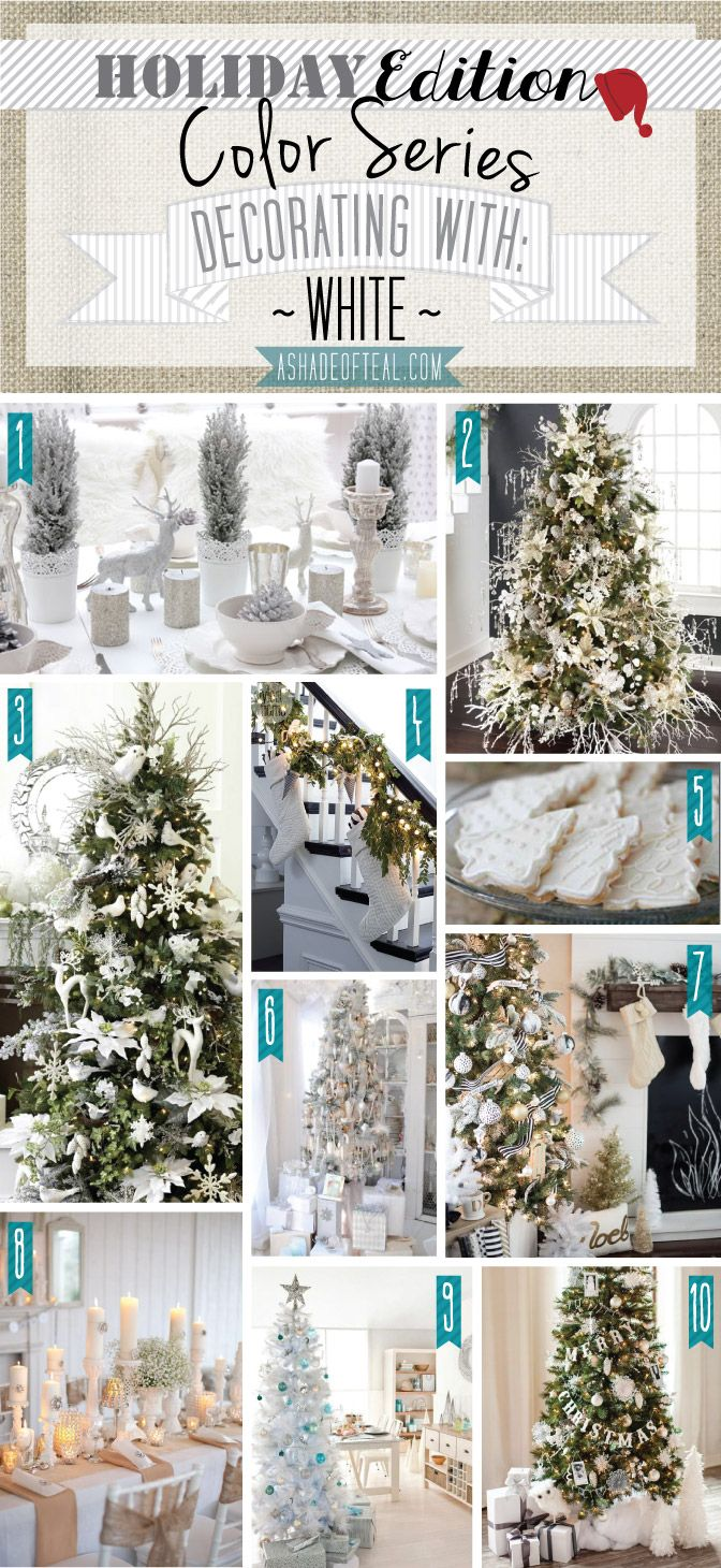 130 best Holiday Color Series images on Pinterest | Natal, Christmas ...