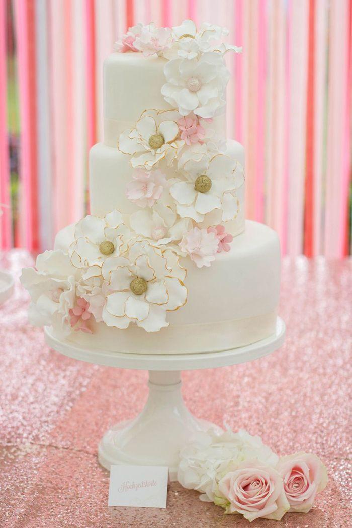 Wie fotografiere und präsentiere ich eine Hochzeitstorte?