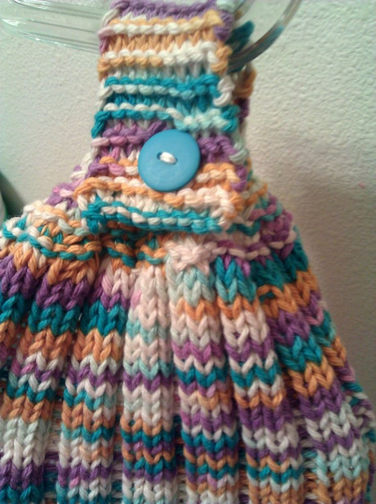 810 Best Washcloths Knitted Or Crocheted Images On Pinterest