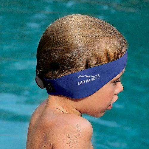 Ear Band-It System - best thing EVER for kids with ear tubes so they can swim with no worries!